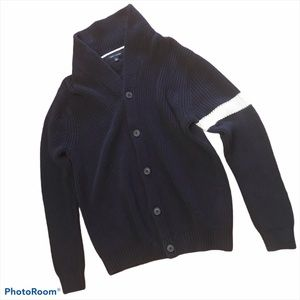 Tommy Hilfiger heavy cotton navy cardigan
